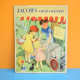 Vintage 1950s Cardboard Jacobs Crackers Advert
