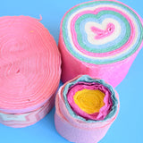 Vintage 1950s Pretty Crepe Paper Streamers - Various Colours .