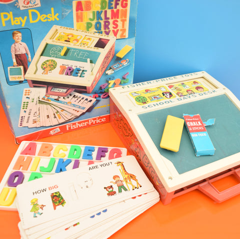 Vintage 1970s Fisher Price Play Desk (Boxed)