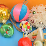 Vintage 1970s Mixed Christmas Decorations - Kitsch