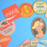 Vintage 1960s Mixed Beer Mats / Drinks Mats / Coasters .