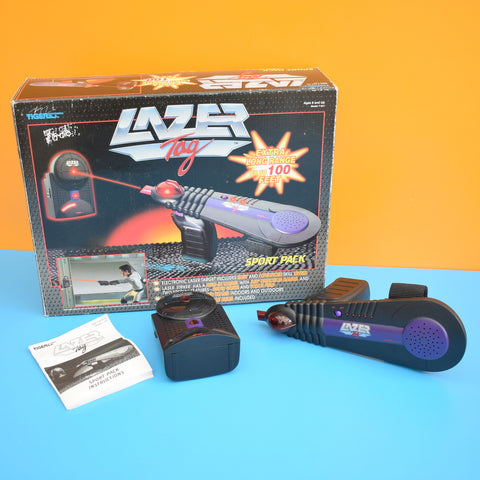 Vintage 1990s Tiger - Electronic Lazer Tag Game System - Boxed