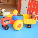 Vintage 1960s Fisher Price - Play Family Farm - With Animals