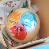 Vintage 1950s Glass Christmas Baubles - Mixed