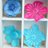 Vintage 1970s Enamel Brooch Pins - Flower Designs - Various