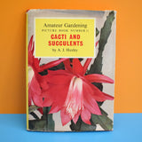 Vintage 1960s Cacti And Succulents Book