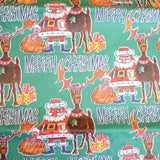 Vintage 1970s Christmas Gift Wrap Paper Pack - Multiples Available