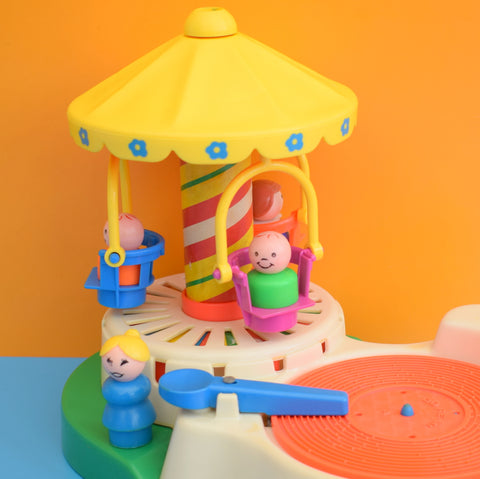 Vintage 1970s Fisher Price Merry-Go-Round - Record Player