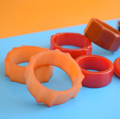 Vintage 1950s Bakelite Napkin Ring Mixed Group
