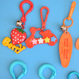 Vintage 1980s American Charm Keyring - Mixed Designs
