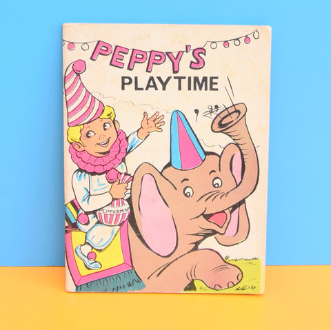 Vintage 1960s Peppy's Playtime & The Magic Fruit Circus Story Books