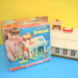 Vintage 1970s/80s Fisher Price School House - Boxed