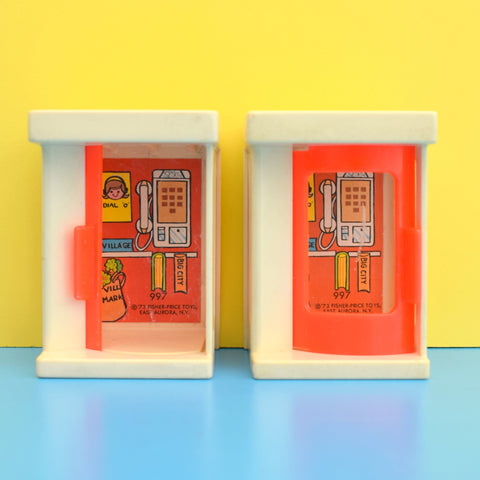 Vintage 1970s Fisher Price - Sesame Street Bits & Phone Boxes
