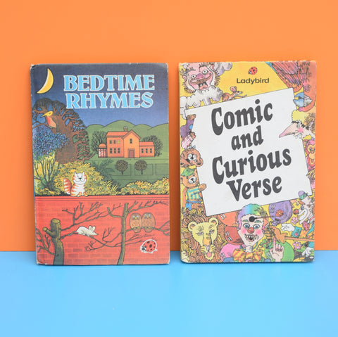 Vintage Ladybird Books - Comic & Curious Verse , Bedtime Rhymes