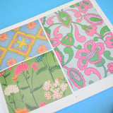 Retro Book - Flower Power Prints from The 1960s - Schiffer Book for Designers & Collectors