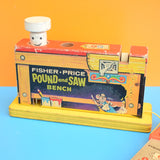 Vintage 1960s Fisher Price Pound And Saw Toy