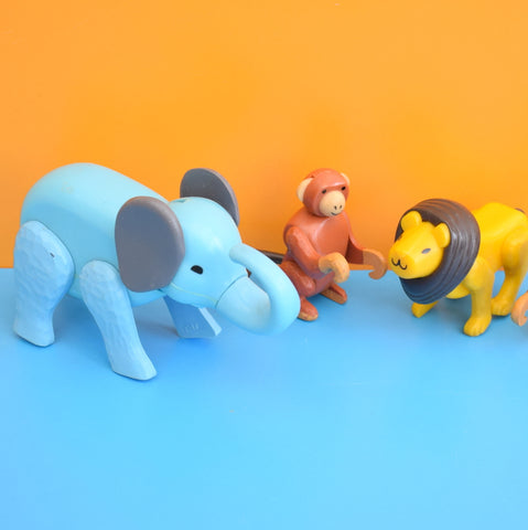 Vintage 1970s Fisher Price Zoo Animals