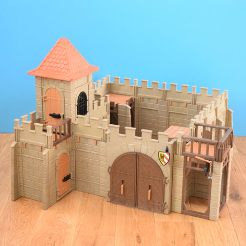 Vintage 1970s Playmobil Castle Kit 3446 Plus Extras