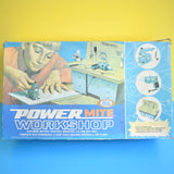 Vintage 1960s Children's Power Mite Workshop - Boxed (Battery Operated)