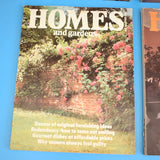 Vintage 1980s Homes And Gardens Magazines  -1980