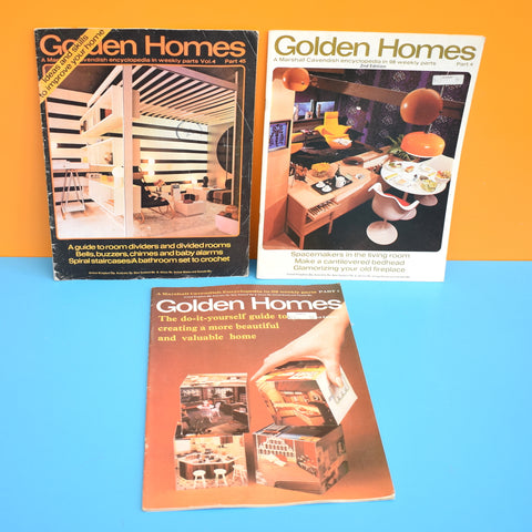 Vintage 1970s Golden Homes Magazine  - 1974