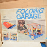 Vintage 1960s Fold Up Garage - Corgi Car Scale - Boxed