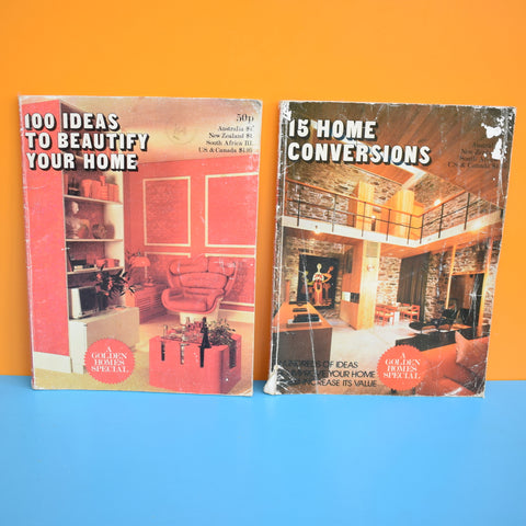 Vintage 1970s Home Conversions/ Beautify Home Magazine  - 1972