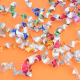 Vintage 1960s Wonderspin Twisted Foil Decorations - Various colours (Small) Group