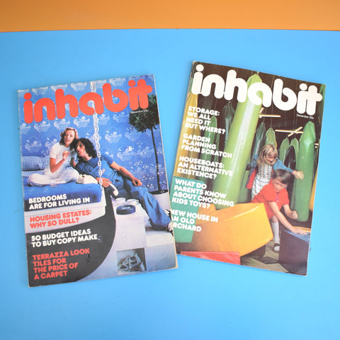 Vintage 1970s Inhabit Magazine  - 1973