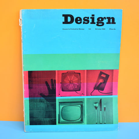 Vintage 1960s Design Council Industrial Magazine - Oct 1960