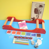 Vintage 1970s Hobby Horse - Bead Loom Kit - Boxed - Glass Beads