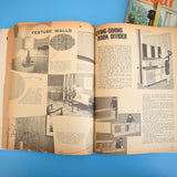 Vintage 1960s Ideal Home / Practical Householder Magazines - 1964/65