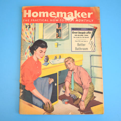 Vintage 1960s Homemaker Magazine - March 1960