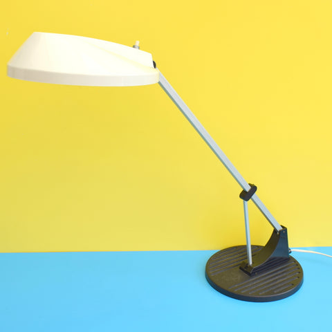 Vintage 1960s Anglepoise Desk Lamp - Herbert Terry - Model WL1 - White