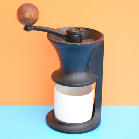 Vintage Rare 1960s Robert Welch - Heavy Cast Metal Coffee Grinder - Design Centre