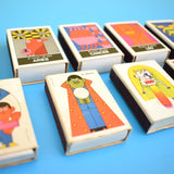 Vintage 1960s Matchboxes - Geometric, Horoscopes, Bright Colours