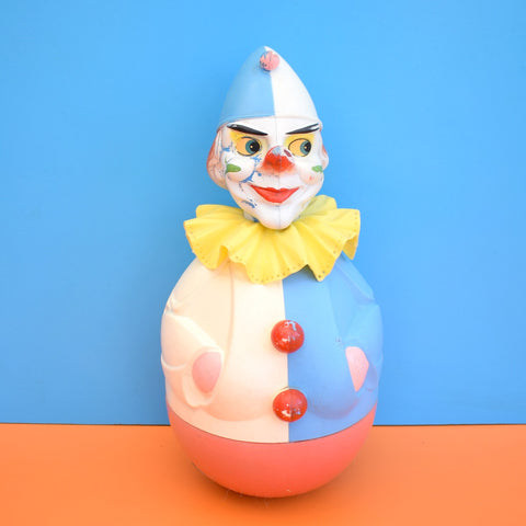 Vintage 1960s Rolly Toys - Large Clown