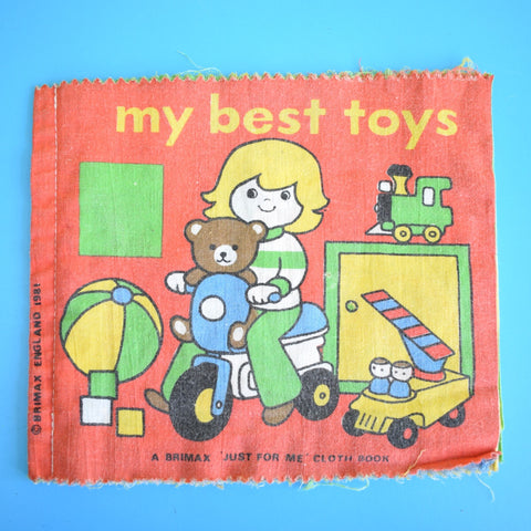 Vintage 1980s Cloth Book - My Best Toys - Brimax