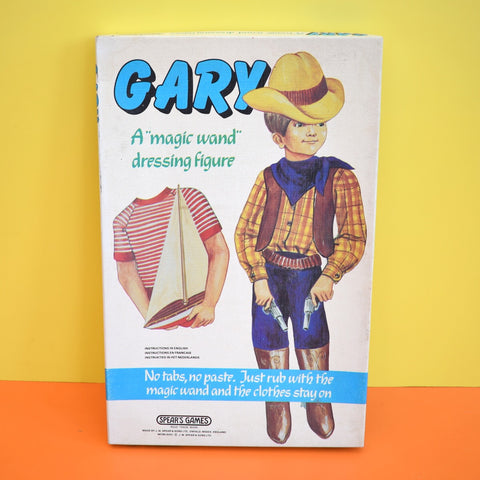 Vintage 1970s Gary Dress Up Doll - Magic Wand