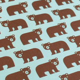 Retro Gift Wrapping Paper by Dicky-Bird, Bear