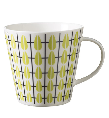 Retro Mug Danish by Superliving Olivia design, Lime