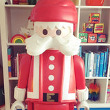 Retro, Kitsch Giant Playmobil Santa / Father Christmas Shop Retail Figure - 5ft Hight