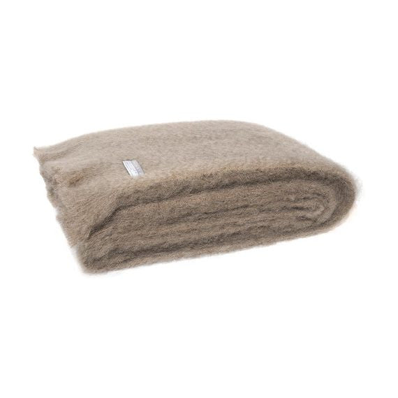 Masterweave Mohair Throw Manuka