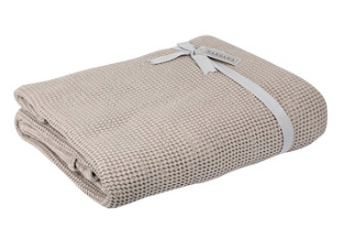 Baksana Bliss Stonewash Throw Beige