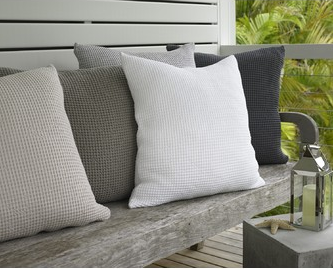 Baksana Bliss Euro Pillowcase - Slate