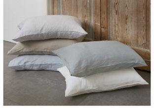 Baksana Luxury Linen Sheet Set Smoke  - King
