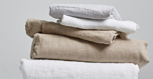 Vida Stonewashed Linen Duvet Cover Natural King