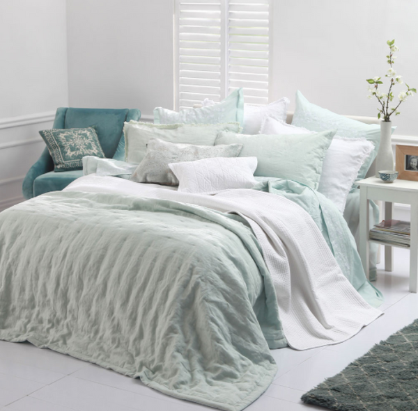 MM Linen Claudette Comforter Set White Large