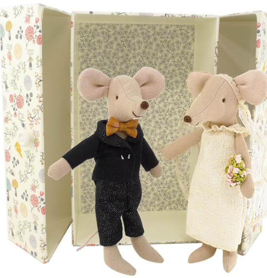 Maileg Wedding Mice Couple