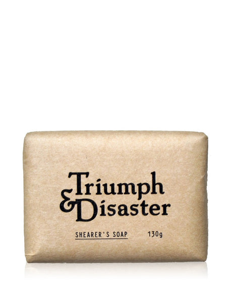 Triump and Disaster Shearers Soap